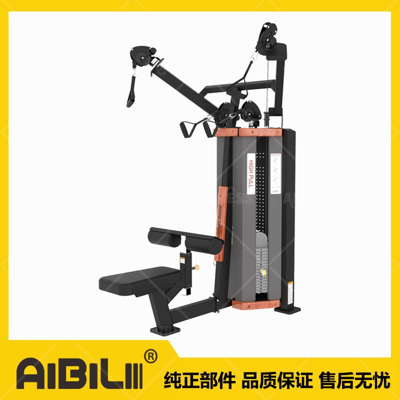 ABL-SJ03 高拉背肌划船综合 HIGH PULL&ROW